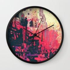 Street of London1 Wall Clock