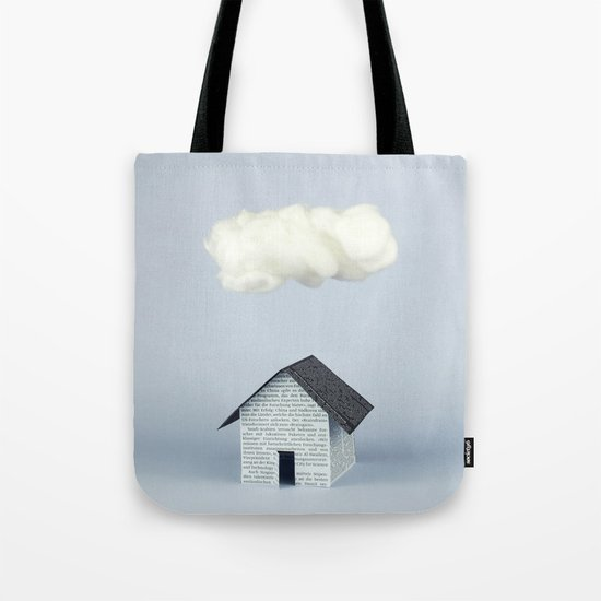 A cloud over the house Tote Bag