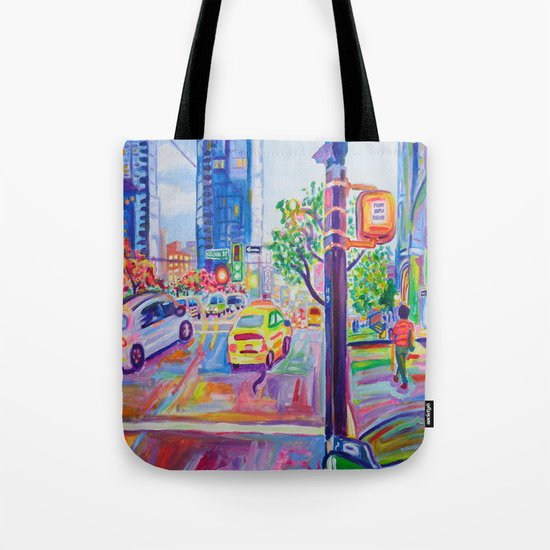 Wall Centre From Nelson And Burrard, Vancouver Tote Bag