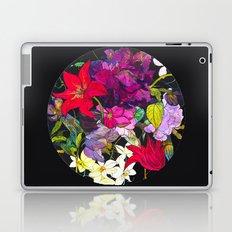 Black Parrot Tulips Laptop & iPad Skin