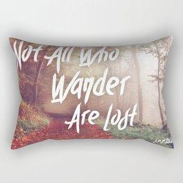 Lost Wanderers Rectangular Pillow