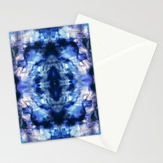 Blue Lagoon Tie-Dye Stationery Cards