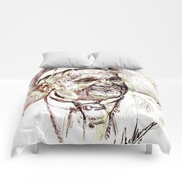 POPE FRANCIS Comforters