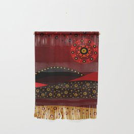 Red spring Wall Hanging