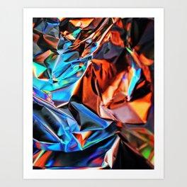 Aluminium Blend Art Print