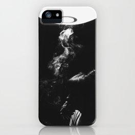 Smoking Lady iPhone Case