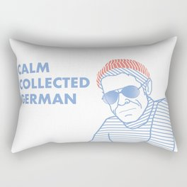 KLAUS DAIMLER - alternative take Rectangular Pillow