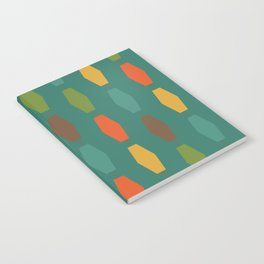 Colima - Teal Notebook