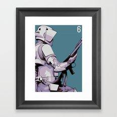 Episode 6 Framed Art Print