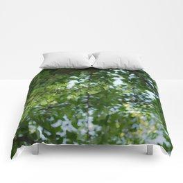 Ginkgo biloba tree in the city Comforters