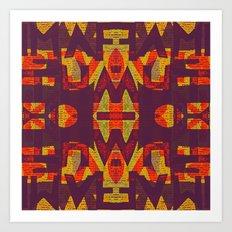 DYSLEXIE Art Print