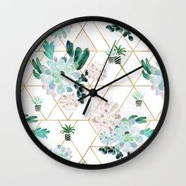 Succulove Wall Clock