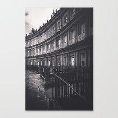 Bath Spa Streets Canvas Print