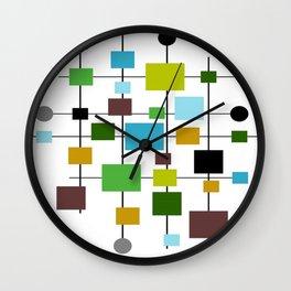 Mid-Century Modern Art 1.3.2 Wall Clock