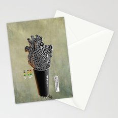 CRZN Dynamic Microphone - 002 Stationery Cards