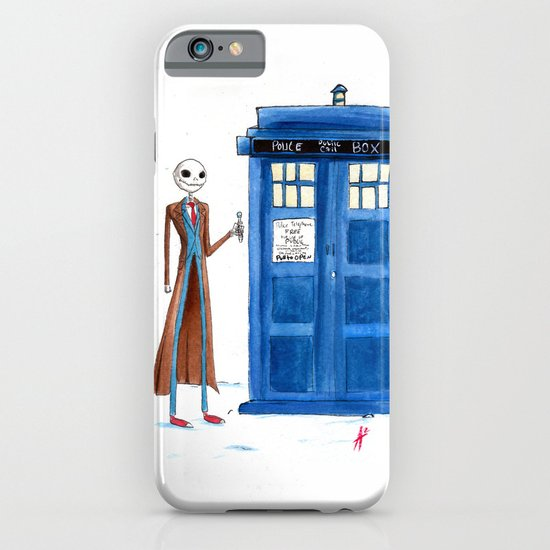 Doctor Wholington, Pumpkin Time Lord King! iPhone & iPod Case