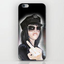 NYPD Rebel iPhone Skin