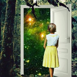 Notebook - Portal in the Woods - Eugenia Loli