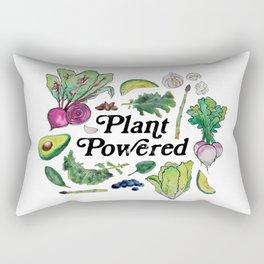 Plant Powered Rectangular Pillow