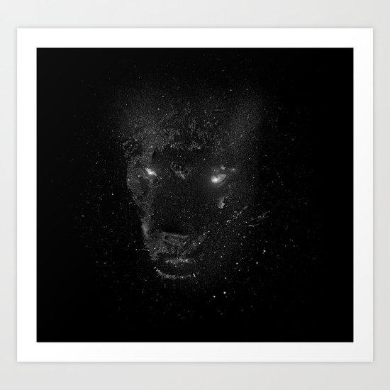 Space Panther Art Print