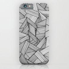 Straight Lines Slim Case iPhone 6s