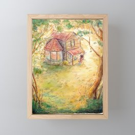 Willow's Home Framed Mini Art Print