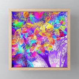 Magic tree Framed Mini Art Print