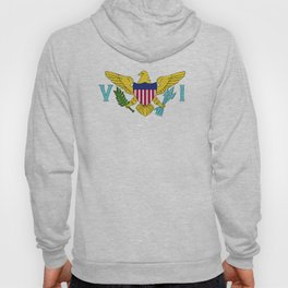Virgin Islands US flag emblem Hoody