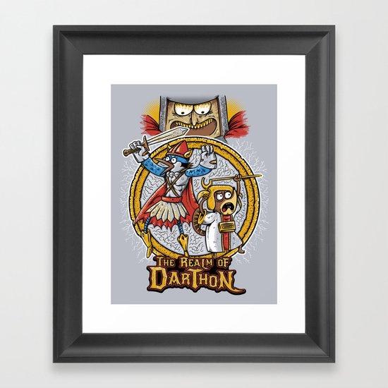 Regular Boardgame Framed Art Print