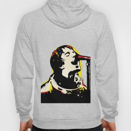 Liam Gallagher Quote Portrait Hoody