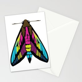 Pan Moth Stationery Cards
