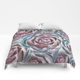 Succulent Succulents Comforters