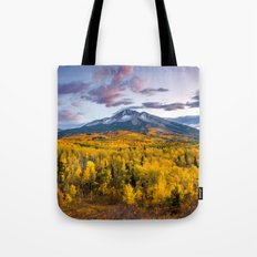 Chasing The Gold Tote Bag