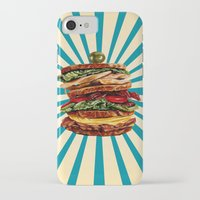 catcher in the rye iPhone & iPod Cases featuring Turkey Club on Rye by Kelly Gilleran