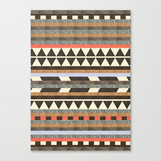 DG Aztec No.1 Canvas Print