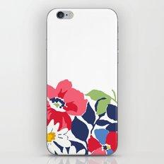 Flower draw iPhone & iPod Skin