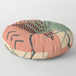 Nature Geometry II Floor Pillow