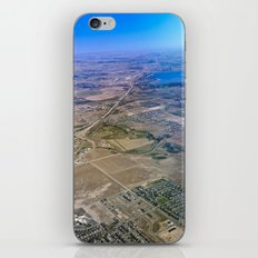 Superman's perspective iPhone & iPod Skin