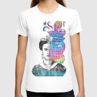 frida kahlo T-shirts featuring Frida Kahlo -  by Le Vent