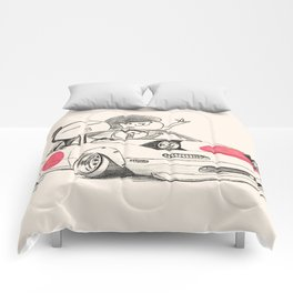 Crazy Car Art 0167 Comforters