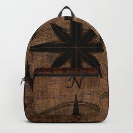 Nostalgic Old Compass Rose Backpack