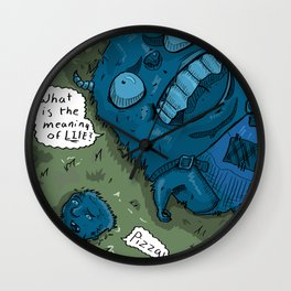 The Meaning of Life Wall Clock