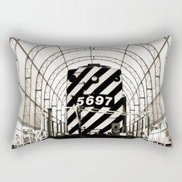 Retro Railway Rectangular Pillow