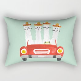 The four amigos Rectangular Pillow