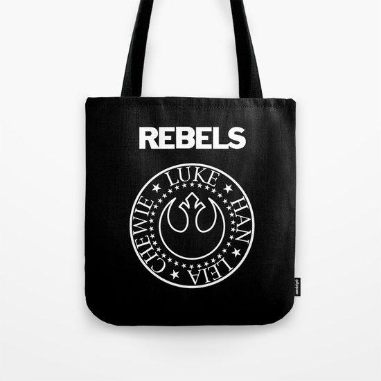 I Wanna Be a Rebel Tote Bag