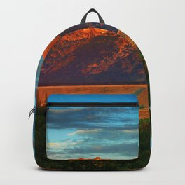 Grand Tetons - Jackson Hole, Wyoming in Autumn Backpack