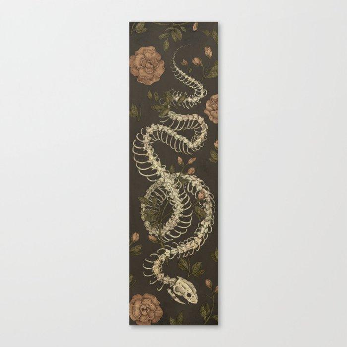 Snake Skeleton Leinwanddruck