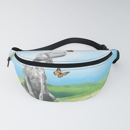 KIKI AND BUTTERFLIES Fanny Pack