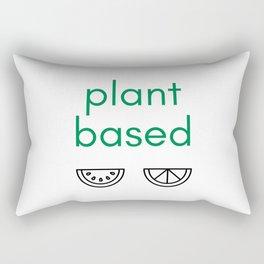 PLANT BASED - VEGAN Rectangular Pillow