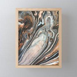 Copper and Stone Framed Mini Art Print